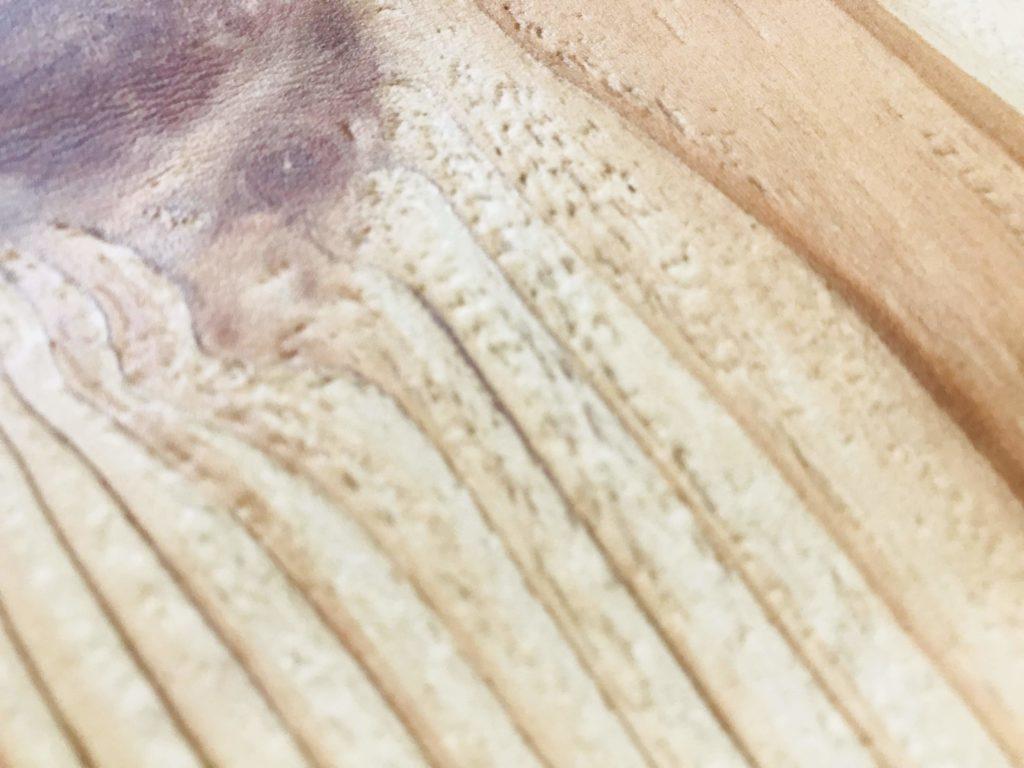 木部壁紙のアップ