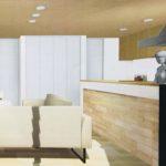新築リビングの3D内覧画像
