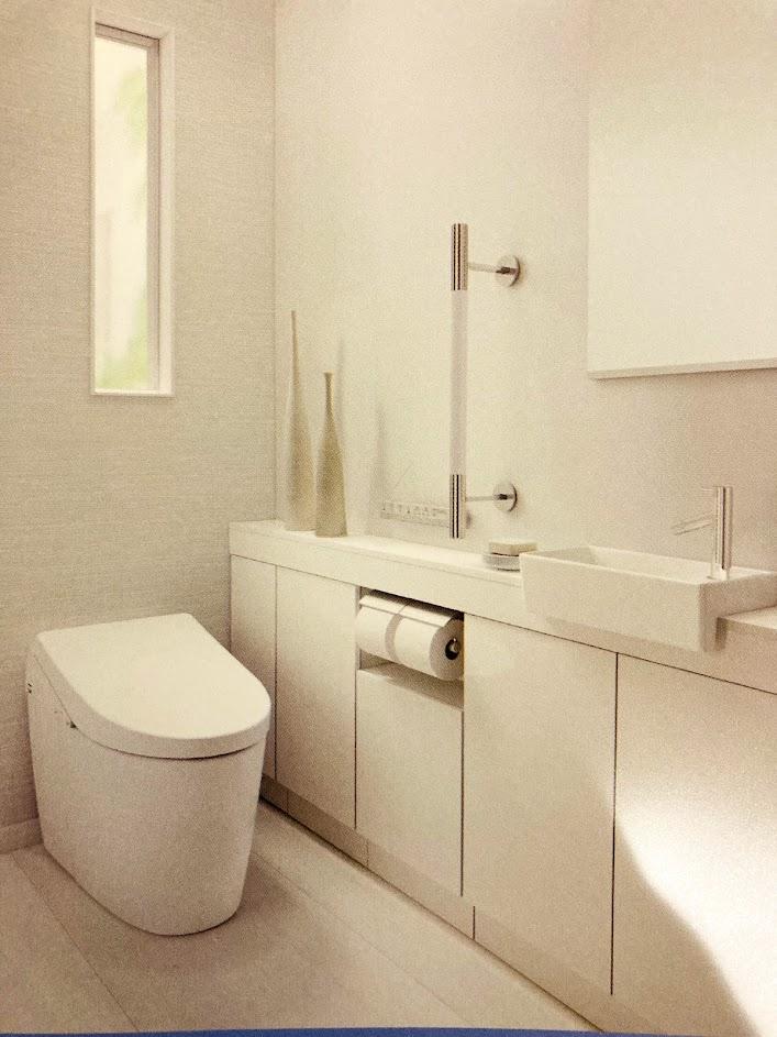 手洗い場つきトイレ