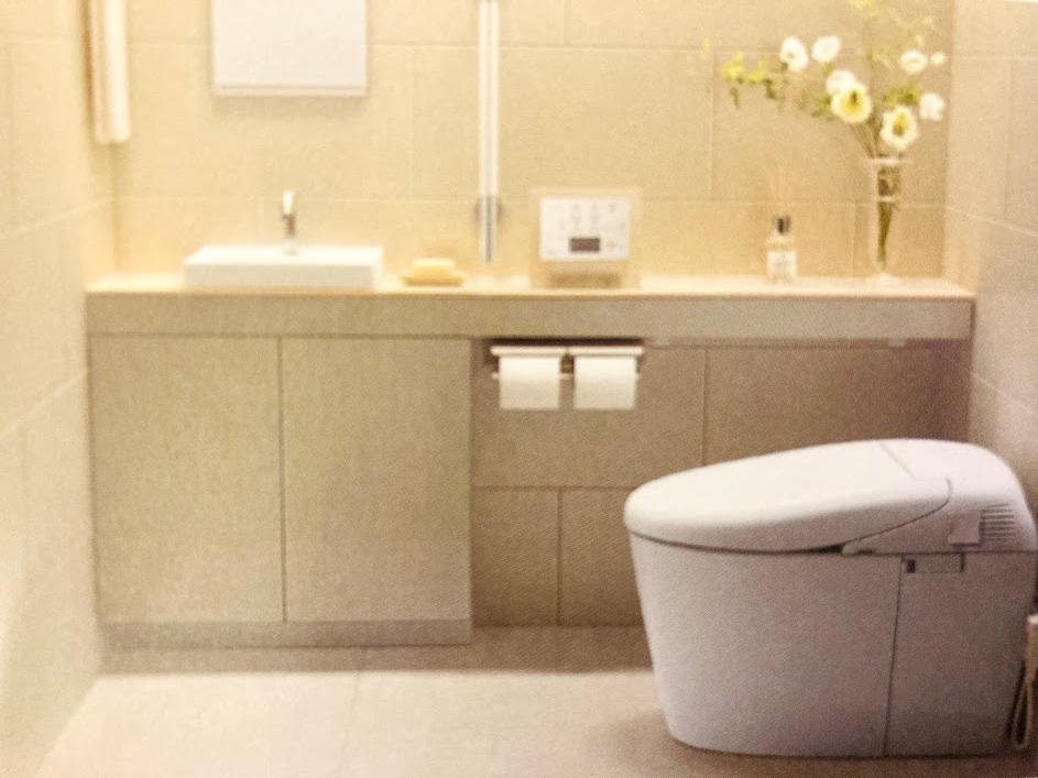 手洗い場つきタンクレストイレ